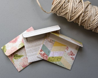 Handmade envelopes - SET OF 3
