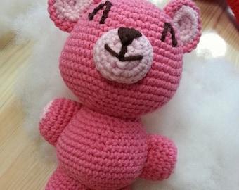 Made to order: Cuddly Amigurumi Teddy Bear