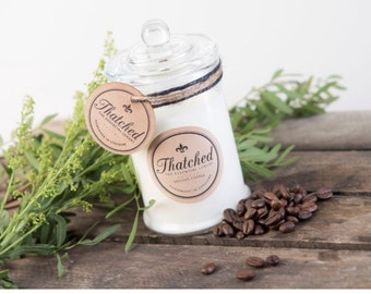 Hand made Soy Wax Candle - Ground Coffee