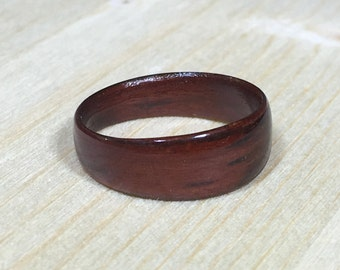 Wood Ring - Size US 4 - Padauk