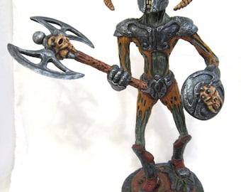 Skyrim axe draugr  (zombie warrior)