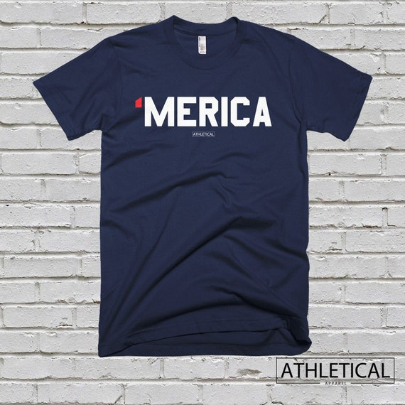 Men 39 S Merica Fourth Of July Tee Shirt Usa By Athleticalapparel