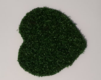 HEART Shaped - A new additional to our artificial grass place mats