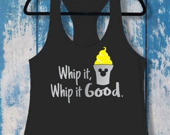 Whip It Good | Ladies Racerback Tank Top | Disney-Inspired | Dole Whip