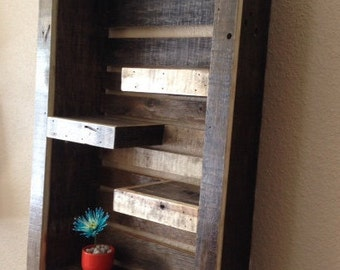 Rustic Modern wall shelf