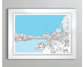 Harbourfest - Bristol, (Landscape)