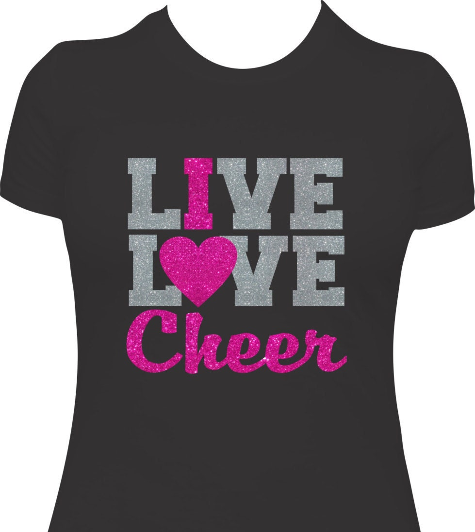 Cheer shirt cheer gift cheer team cheer team gift girls Cheerleading t shirt designs