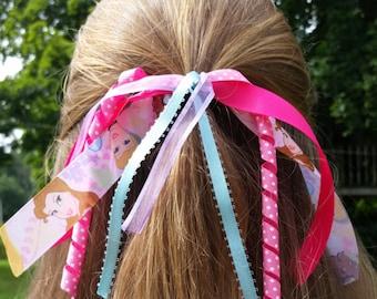 Disney Princess Hair Tie Bow