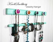 """Western Girl 2-Tier Necklace / Bracelet Holder w/4 Cowgirl Decorative Knobs . 3 Lengths Available - 12"""", 16"""" and 19"""". Great Gift Idea."""