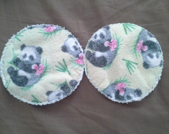 Pair of washable nursing pads, breast pads