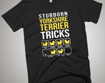 Yorkshire terrier Stubborn Tricks T-Shirt
