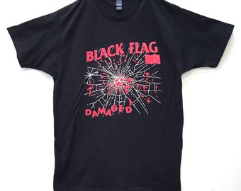 BLACK FLAG Damaged Tee (Limited 25 Only)