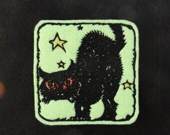 Sotis embroidery design embroidery file HalloweenCat for the 10x10er framework