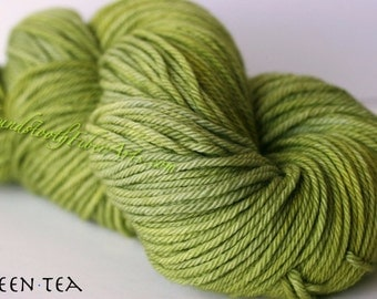 Whiskey Time Worsted Yarn, Green Tea CLEARANCE