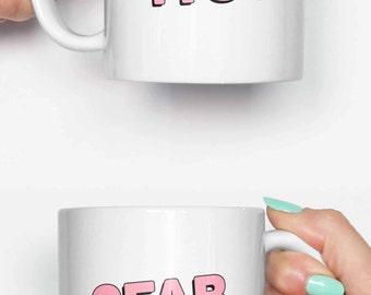 2 Fab for you - funny mug, coffee mug, office mug, gifts for him, cute mug, birthday mug, gifts for her 4C070