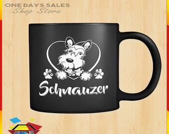Schnauzer coffee cup  Mug