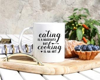 Funny Chef Coffee Mug - Cooks Mug- Cook Gifts - Gifts For Cook - Chef Gifts - Cooking Gifts - Foodie Gifts - Ship Cook Gifts- Culinary Gifts
