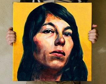 Custom portrait - Acrylic Painting on canvas