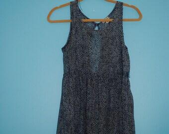 polka dot dress. size: small