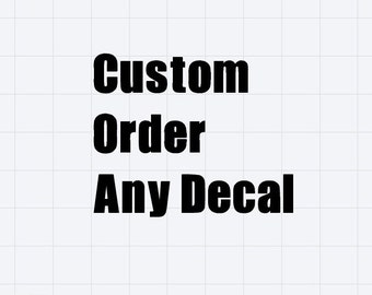 Yeti Decal/ Customized/ Personalized Decal