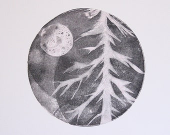 Untitled (tree with moon)