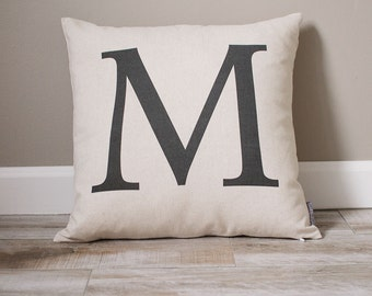Monogram Pillow | Personalized Pillow | Personalized Gift | Monogrammed Gift | Rustic Home Decor | Home Decor | Wedding Gift