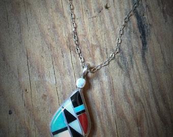 RLK Colorblock Necklace