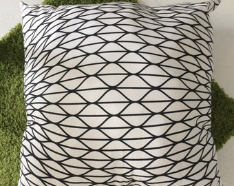 Black and White Floor Cushion