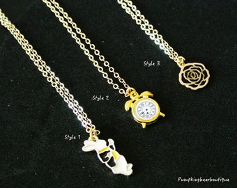 Alice in wonderland Necklaces