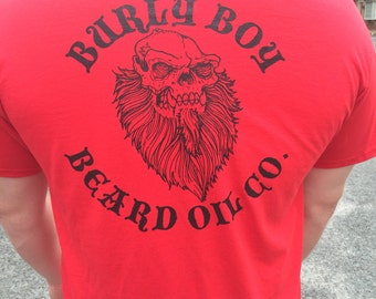 Burly Boy Beard Oils T-Shirts