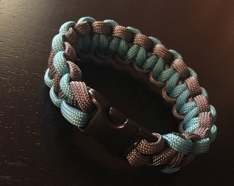 Handmade Paracord Bracelet With Buckle