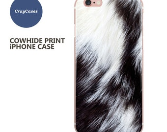 Cowhide iPhone 6s Case, Cowhide iPhone 6s Plus Case, Cowhide iPhone 7 Case, Cowhide iPhone 6 Plus Case (Shipped From UK)