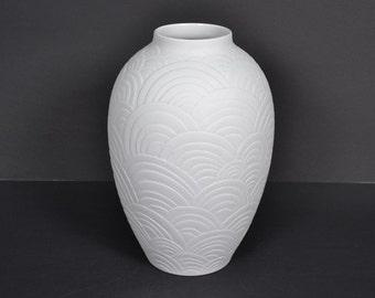 Large Heinrich & Co Selb vase -  Bavaria   Mid Century vase - Germany -  2057
