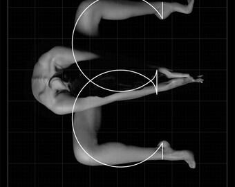 SERIGRAPHY BODYFONT - LETTER E