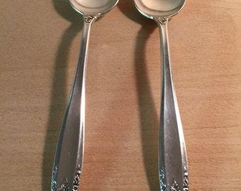 Two Prelude International  Sterling Silver Teaspoons
