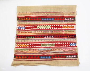 Textile Decorative Patchwork Pattern Tribal Fabric Crafts