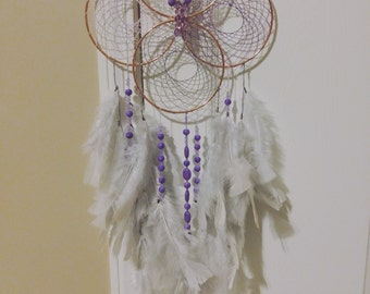 Four ring dream catcher