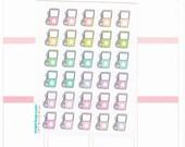 30 cute kawaii gas pump petrol planner stickers, hand drawn, budget, work, car, fuel tracker, doodles, school, agenda, to do, task, GAS1