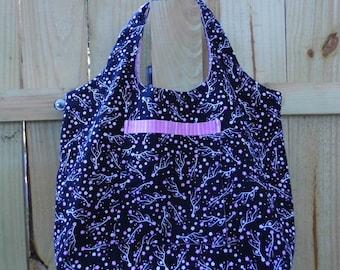 Tote Bag - Pink & Black