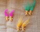 Troll earrings - Jen Special order
