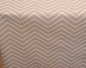 NEW Chevron Ecru shown - DESIGNER Dog Crate Cover - YOU Choose Fabric - Dog Bed Duvet Covers