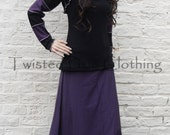 Goth Hooded Striped Shrug ~ Gothic ~ Cybergoth ~ Anime ~ Sizes 6 to 30 ~ Last Chance to Buy ~
