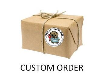 Custom Listing for:   Sophia Wong