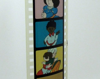 Vintage Childrens Filmstrip - Lollipop Dragon Mother's Day - Film Strip - 35mm film - childrens story - holiday