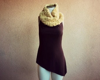 Ready to Ship Gift for Her Infinity Scarf Expedited Shipping Chunky Scarf Knit Circle Scarf Gift for Women Scarf