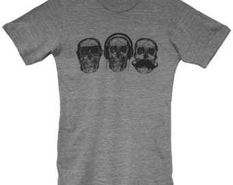 Monkey See, Monkey Do - Graphic Crew Neck Tee Shirt