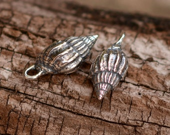 Conch Shell from the Midway Islands, Sterling Silver Sea Shell, CH-479