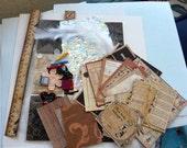 DIY Graphic 45 ABC Primer School kit/ Pocket Letter/ vintage Paper supplies/ journals/ smash books / scrapbooks