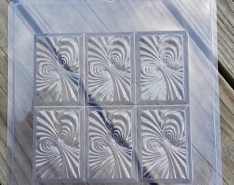 Tray Vortex Soap Mold