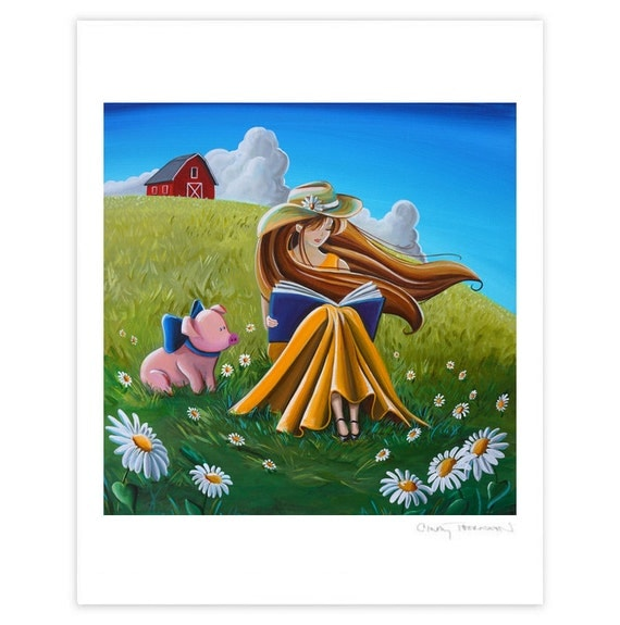 Dreamer Series Limited Edition - Storytime On The Farm - Signed 8x10 Semi Gloss Print (5/10)